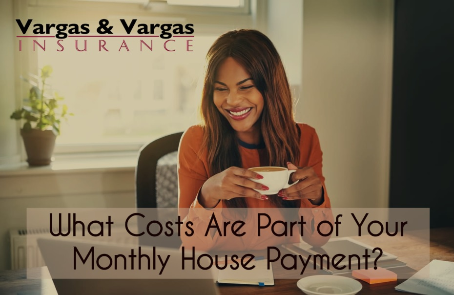 Woman smiling as she reviews her house payment at home