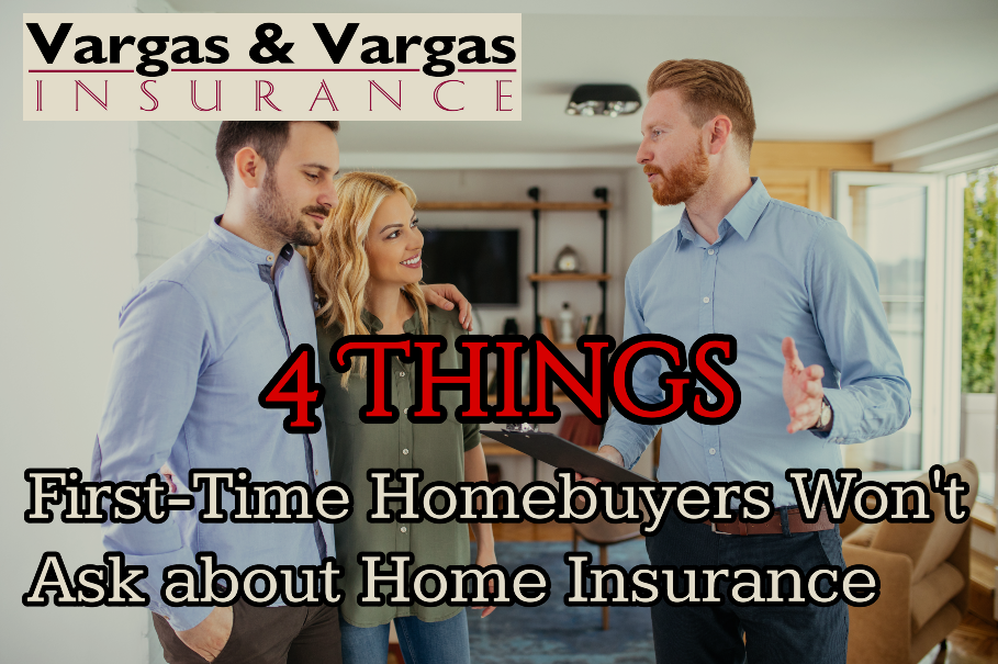Realtor explaining home insurance to first-time homebuyers