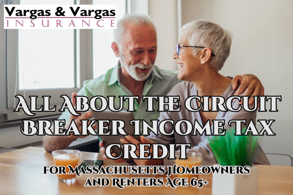 older couple organizing their tax information to get the Circuit Breaker Income Tax Credit