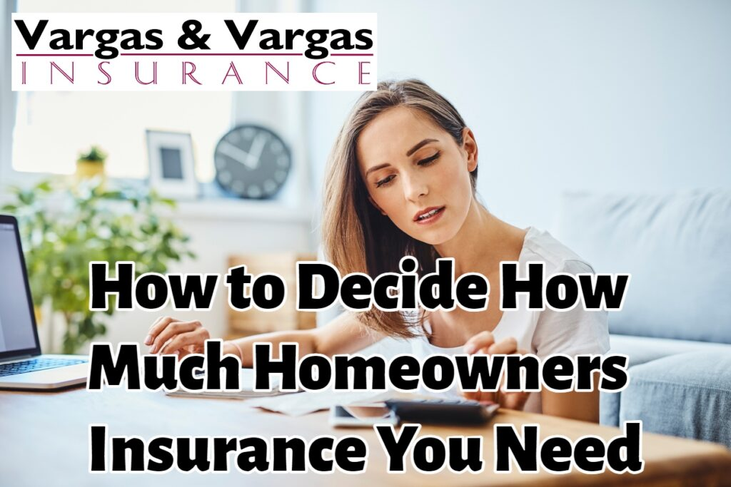 homeowner calculating the replacement cost of her home as she determines how much homeowners insurance she needs