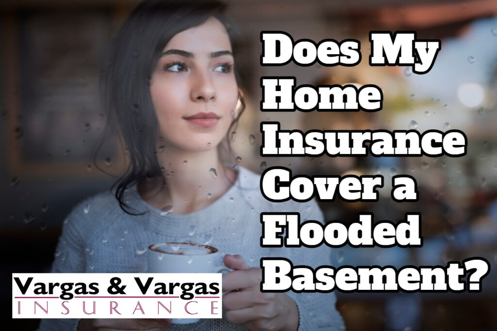 Happy homeowner with coverage in the event of a flooded basement