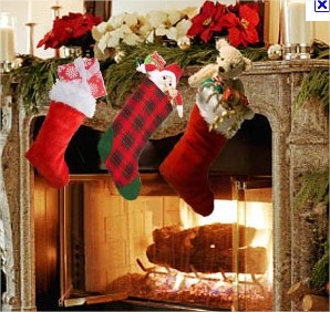 stocking on fireplace mantle XMAS.jpg