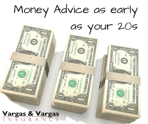 Money Advice as early as your 20s
