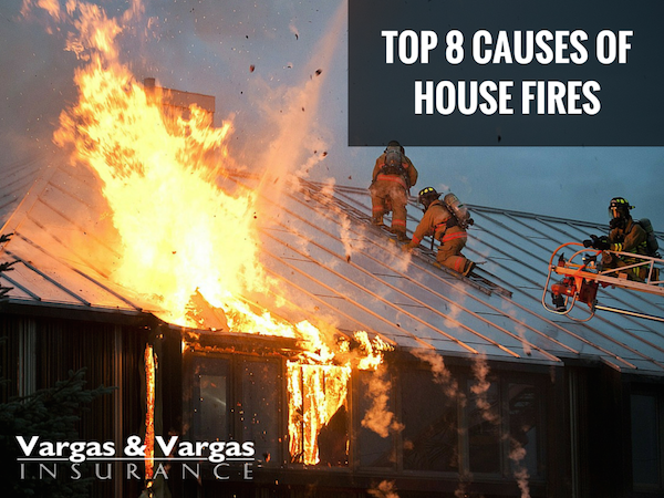 top 8 causes of house fires