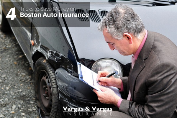 4 Tricks to Save Money on Boston Auto Insurance