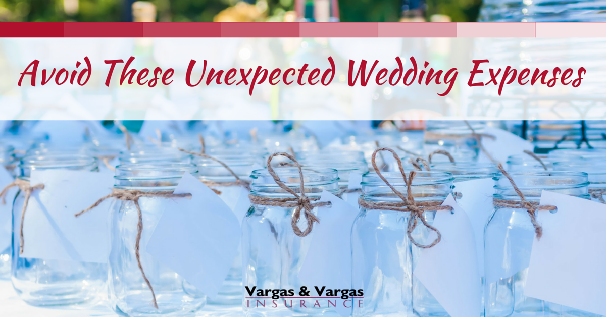 Avoid These Unexpected Wedding Expenses