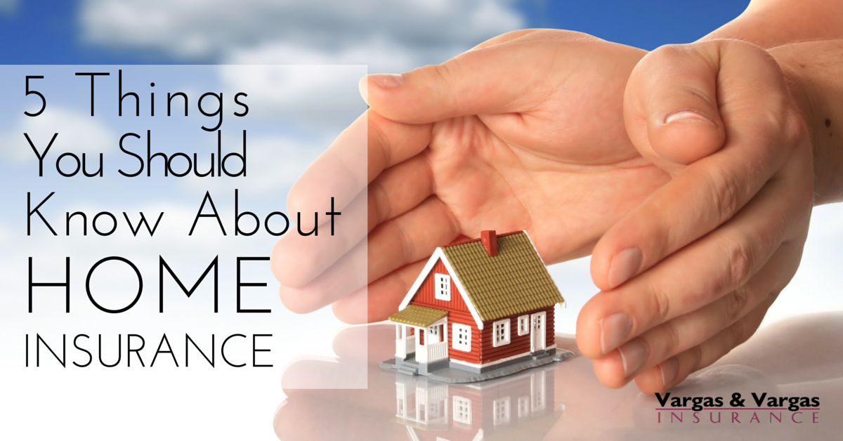 Things You Should Know About Your Home Insurance