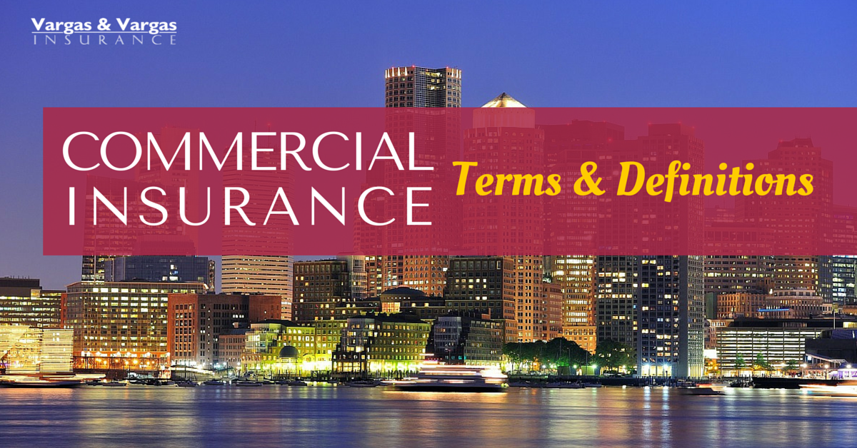 Commercial Insurance Terms and Conditions