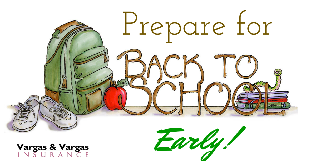 Prepare for back to school early