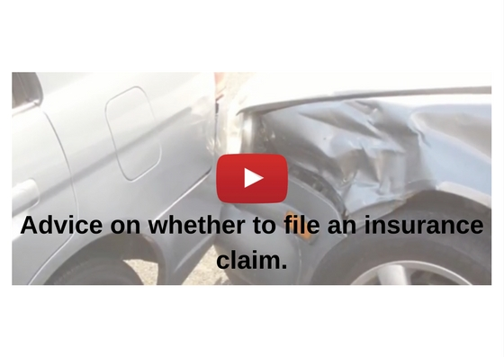 Advice on whether to file an insurance claim Video